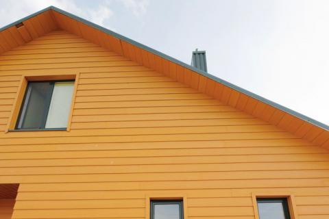Фото Частный дом (Объект 3). Материал: Фиброцементный сайдинг Cedral | . Фото № 967949674