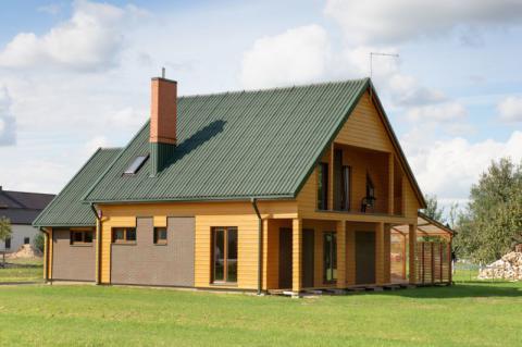 Фото Частный дом (Объект 7). Литва. Материал: Фиброцементный сайдинг Cedral | . Фото № 1007256718