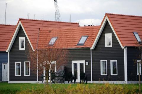 Фото Коттеджный поселок, Бельгия. Материал: Фиброцементный сайдинг Cedral | . Фото № 197157941