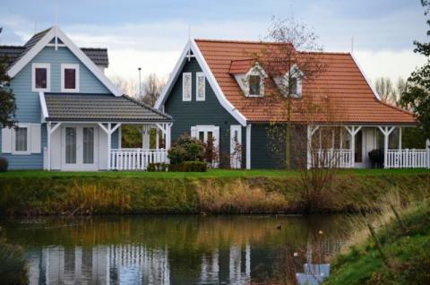 Фото Коттеджный поселок, Бельгия. Материал: Фиброцементный сайдинг Cedral | . Фото № 1822299582