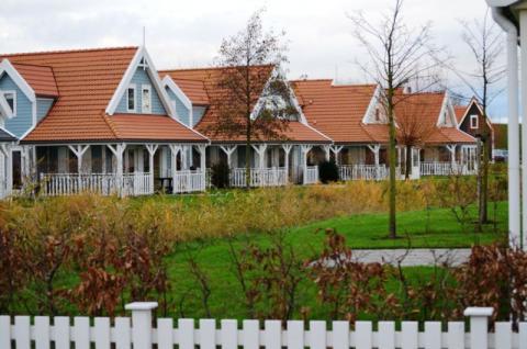 Фото Коттеджный поселок, Бельгия. Материал: Фиброцементный сайдинг Cedral | . Фото № 1408852062