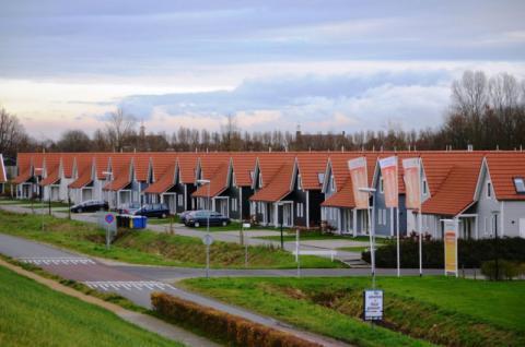 Фото Коттеджный поселок, Бельгия. Материал: Фиброцементный сайдинг Cedral | . Фото № 1590697579