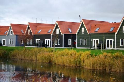 Фото Коттеджный поселок, Бельгия. Материал: Фиброцементный сайдинг Cedral | . Фото № 1973499819