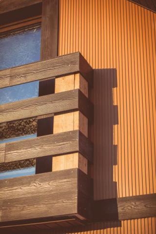 Фото Коттеджный поселок, Шелестово. Материал: Фиброцементный сайдинг Cedral | . Фото № 89382149