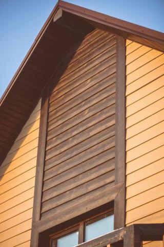 Фото Коттеджный поселок, Шелестово. Материал: Фиброцементный сайдинг Cedral | . Фото № 460594984