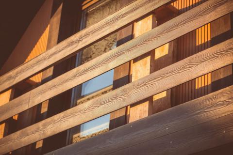 Фото Коттеджный поселок, Шелестово. Материал: Фиброцементный сайдинг Cedral | . Фото № 261340609