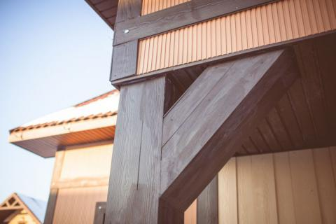 Фото Коттеджный поселок, Шелестово. Материал: Фиброцементный сайдинг Cedral | . Фото № 1412148445