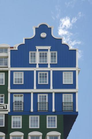 Фото Отель Golden Tulip Inntel в Голландии. Материал: Фиброцементный сайдинг Cedral | WAM architecten, Coenderstraat 3-4, NL-2613 SM Delft, desing: Molenaar & Van Winden. Фото № 599299383
