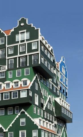 Фото Отель Golden Tulip Inntel в Голландии. Материал: Фиброцементный сайдинг Cedral | WAM architecten, Coenderstraat 3-4, NL-2613 SM Delft, desing: Molenaar & Van Winden. Фото № 441882349