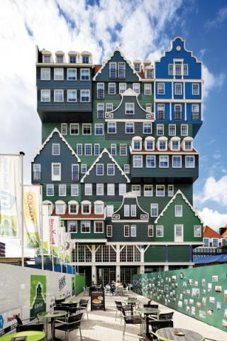 Фото Отель Golden Tulip Inntel в Голландии. Материал: Фиброцементный сайдинг Cedral | WAM architecten, Coenderstraat 3-4, NL-2613 SM Delft, desing: Molenaar & Van Winden. Фото № 851184822