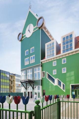 Фото Отель Golden Tulip Inntel в Голландии. Материал: Фиброцементный сайдинг Cedral | WAM architecten, Coenderstraat 3-4, NL-2613 SM Delft, desing: Molenaar & Van Winden. Фото № 274293069