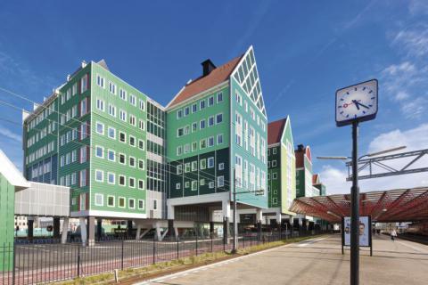 Фото Отель Golden Tulip Inntel в Голландии. Материал: Фиброцементный сайдинг Cedral | WAM architecten, Coenderstraat 3-4, NL-2613 SM Delft, desing: Molenaar & Van Winden. Фото № 1936802141