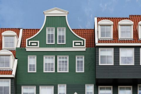 Фото Отель Golden Tulip Inntel в Голландии. Материал: Фиброцементный сайдинг Cedral | WAM architecten, Coenderstraat 3-4, NL-2613 SM Delft, desing: Molenaar & Van Winden. Фото № 658359243