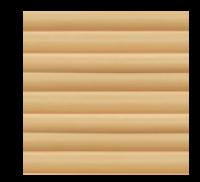 Фасадная панель Dolomit Брус - цвет ольха