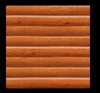 Фасадная панель Dolomit Брус - цвет кедр