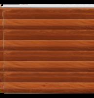 Фасадная панель Dolomit Double Брус - цвет мокко