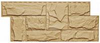 Фасадная панель T-SIDING «Гранит леон» - цвет Бежевый