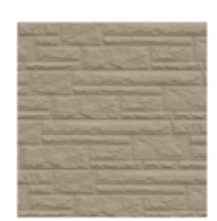 Цокольный сайдинг Dolomit - цвет сандал