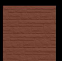 Цокольный сайдинг Dolomit - цвет шоколад-1