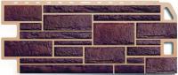 Фасадные панели Альта-Профиль «Камень» - цвет Жжёный
