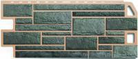 Фасадные панели Альта-Профиль «Камень» - цвет Серый