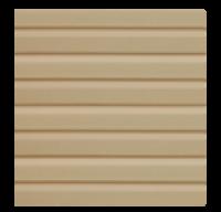 Виниловый сайдинг Dolomit VinSiDe - Корабельная доска - цвет сандал