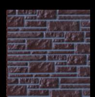 Цокольный сайдинг Dolomit «Прокрашенный» - цвет корица