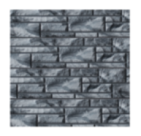 Цокольный сайдинг Dolomit «Эксклюзивный» - цвет агат