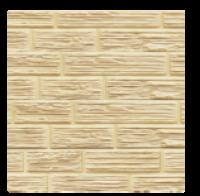 Цокольный сайдинг Dolomit  «Сланец» - цвет слоновая кость