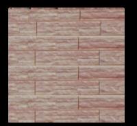 Цокольный сайдинг Dolomit  «Скалистый риф ЛЮКС» - цвет янтарь