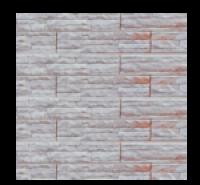 Цокольный сайдинг Dolomit  «Скалистый риф ЛЮКС» - цвет корал
