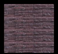 Цокольный сайдинг Dolomit  «Скалистый риф ЛЮКС» - цвет арабика