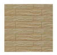 Цокольный сайдинг Dolomit «Кубанский песчаник» - цвет крем