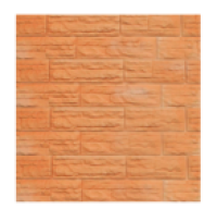 Цокольный сайдинг Dolomit  «Скалистый риф ПРЕМИУМ» - цвет терракотовый