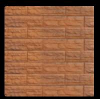 Цокольный сайдинг Dolomit  «Скалистый риф ПРЕМИУМ» - цвет сафари