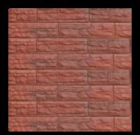 Цокольный сайдинг Dolomit  «Скалистый риф ПРЕМИУМ» - цвет каштан