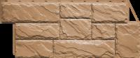 Фасадные панели FineBer «Камень крупный» - цвет Терракотовый