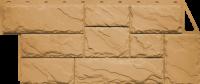 Фасадные панели FineBer «Камень крупный» - цвет Песочный