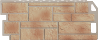 Фасадные панели FineBer - «Камень» - цвет Natur Бежевый