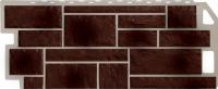Фасадные панели FineBer - «Камень» - цвет Natur Коричневый