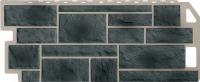 Фасадные панели FineBer - «Камень» - цвет Natur Серо-зелёный