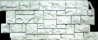 Фасадные панели FineBer «Камень дикий» - цвет Жемчужный
