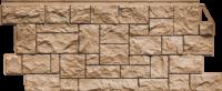Фасадные панели FineBer «Камень дикий» - цвет Терракотовый