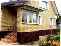 Фасадные панели Альта-Профиль «Кирпич клинкерный»