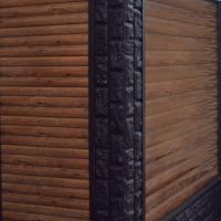 Фасадные панели Dolomit - Брус, Double Брус